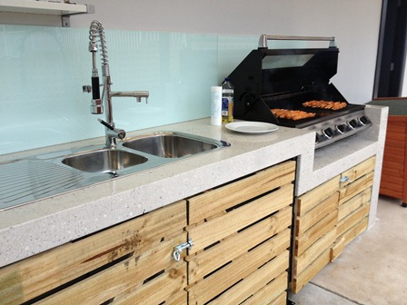 concrete outdoor kitchen stamp polished concrete outdoor kitchen 7 concrete koolis and