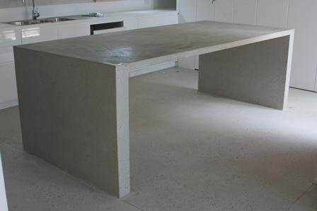 Polished Concrete Kitchen Island Bench Polished Concrete